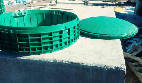 PLASTIC SEPTIC TANK RISERS AND LIDS | Montano Concrete